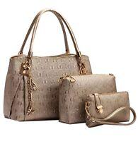 Womens Designer Handbag Set Leather Shoulder Messenger Tote Purse Ladies Bag