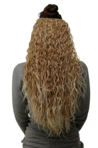 Toupée ClipIn Extension 7 Clips Curly Blonde Mix H931127T88
