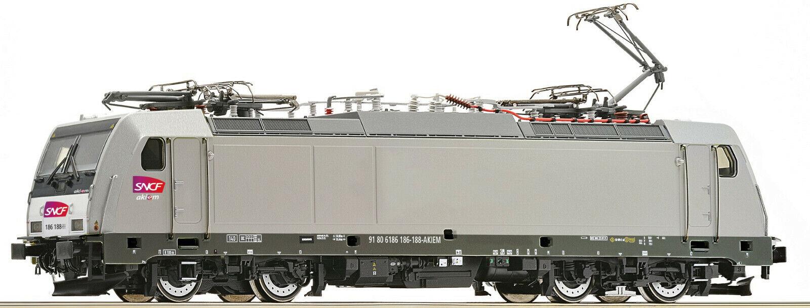 ROCO 73663 DIGITAL LOCOMOTIVE ELECTRIQUE SNCF 186 -188-9 HO BO