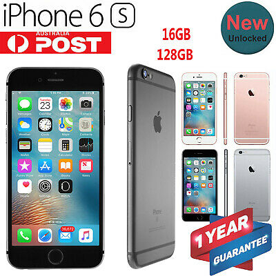Details about  Apple iPhone 6S 16GB 128GB 4G Smartphone NEW & SEALED in BOX AU Stock