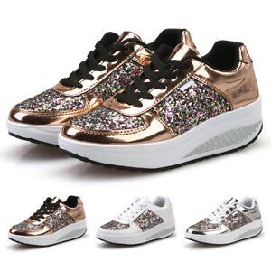 Women-039-s-Sport-Running-Shoes-Breathable-Mesh-Walking-Slip-On-Tennis-Sneakers-Gym