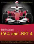 Professional C# 4.0 and .NET 4 by Bill Evjen, Morgan Skinner, Christian Nagel, Jay Glynn, Karli Watson (Paperback, 2010)