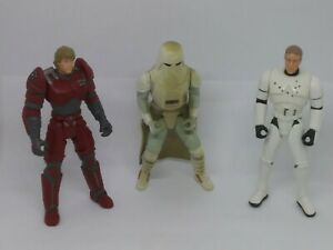Star-Wars-Power-of-The-Force-lot-Deluxe-Snowtrooper-Luke-Skywalker-KENNER