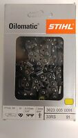 28 Stihl Chainsaw Chain 33 Rs 91 3623 005 0091 33rs 91 3/8 Pt 91 Link