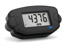 TTO Trail Tech Front Button Style Black Tachometer for Paramotoring & PPG