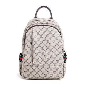 Women Girls Anti-theft Rucksack School Bag PU Backpack Purse Travel Handbag US