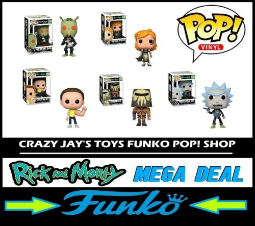 Vinyl 5 POP MEGA Pack Deal RICK and MORTY LOCK DOWN SALE Funko POP