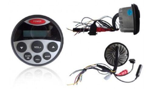Marine Radio Set Wasserdicht BT03 4 LED Lautsprecher