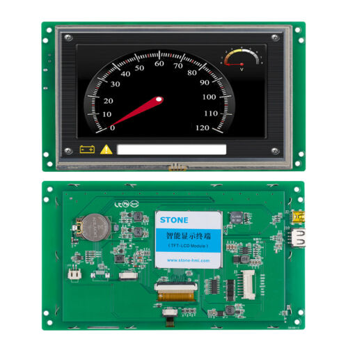 """7"""" HMI TFT LCD Industrial Embedded LCD For Display and Control Project"""