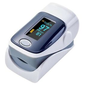 Pro Fingertip Pulse Oximeter Blood Oxygen Monitor Blue