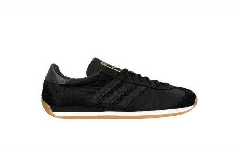 Adidas Originals Country OG Chaussures basses baskets noir FEMME taille 39 1 3 (uk6)