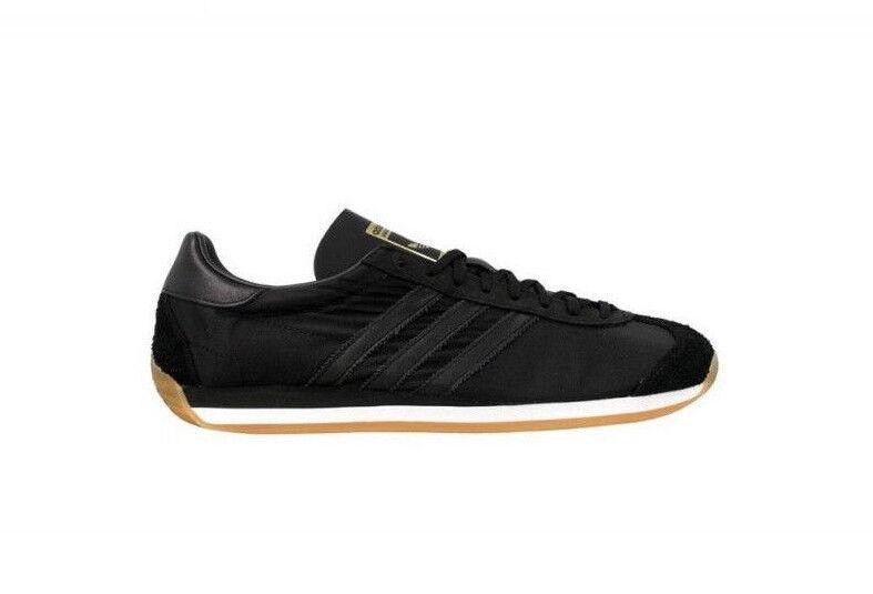 Bdidas Originals Country OG Halbschuhe Sneaker Schwarz Damen Größe 39 1/3 (UK6)