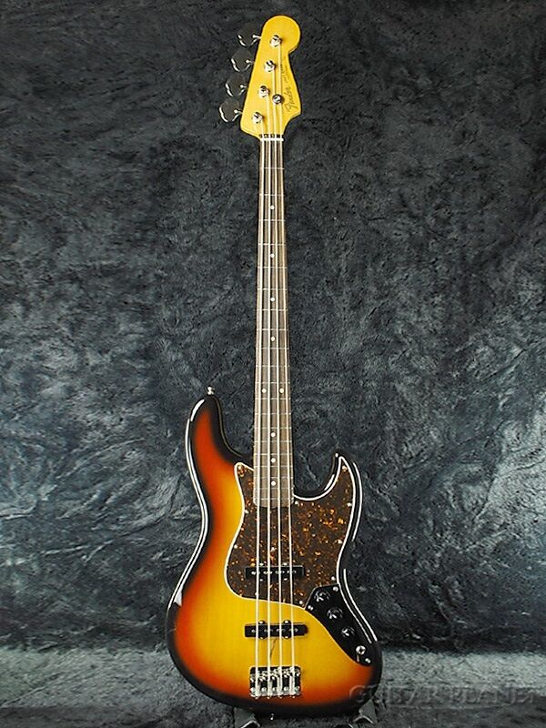 Fender Japan Exclusive Series   Classic 60s JB 3TS Bass Sol Burst