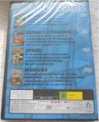 World of Animals 4 Great Movies on 2 DVDs, DVD, dokumentar