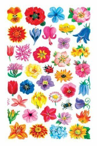 Schmuck-Etikett 76X120mm kleine Blüten