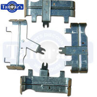 1964 - 1981 Small Block Chevy & Camaro Spark Plug Heat Shield 4 Pieces