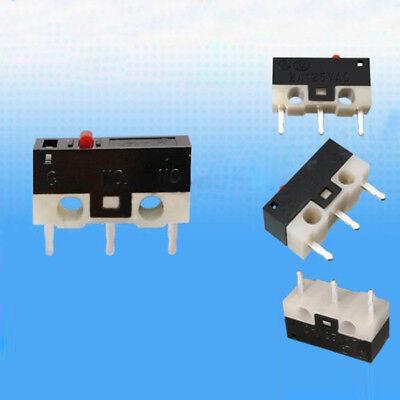 10pcs 12.8*5.8*6.5mm Mouse Microswitch Pushbutton Switches