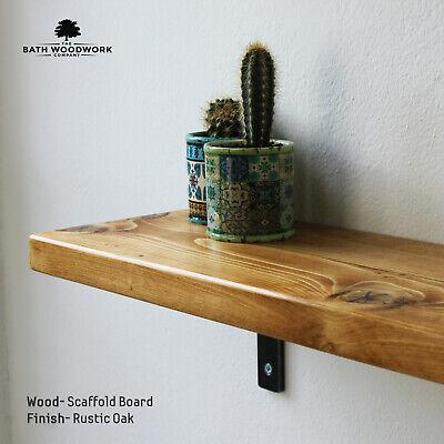 old vintage ✅ RECLAIMED RUSTIC Scaffold Board shelf Industrial//Rustic Shelves