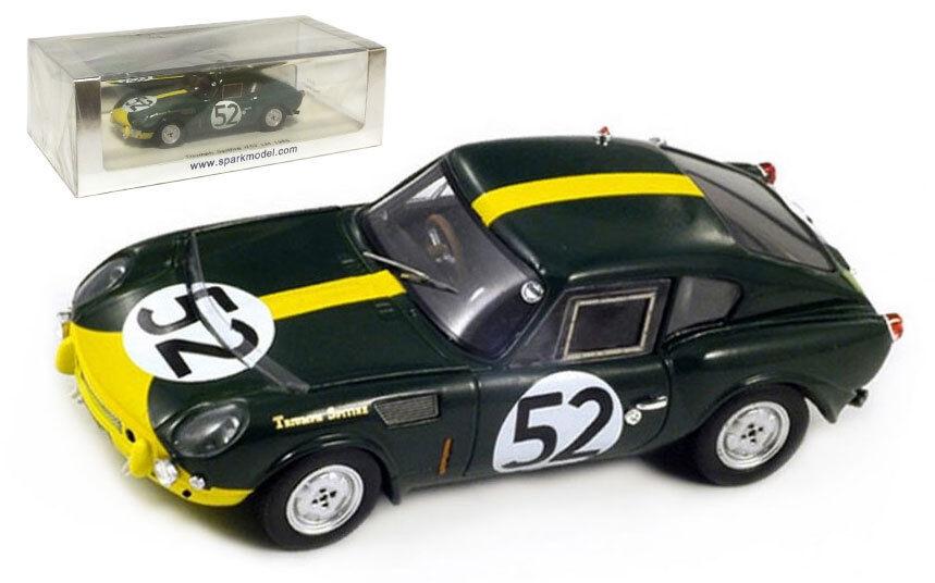 SPARK S1415 TRIUMPH SPITFIRE  52 Le Mans 1965 Hobbs Slotemaker échelle 1 43