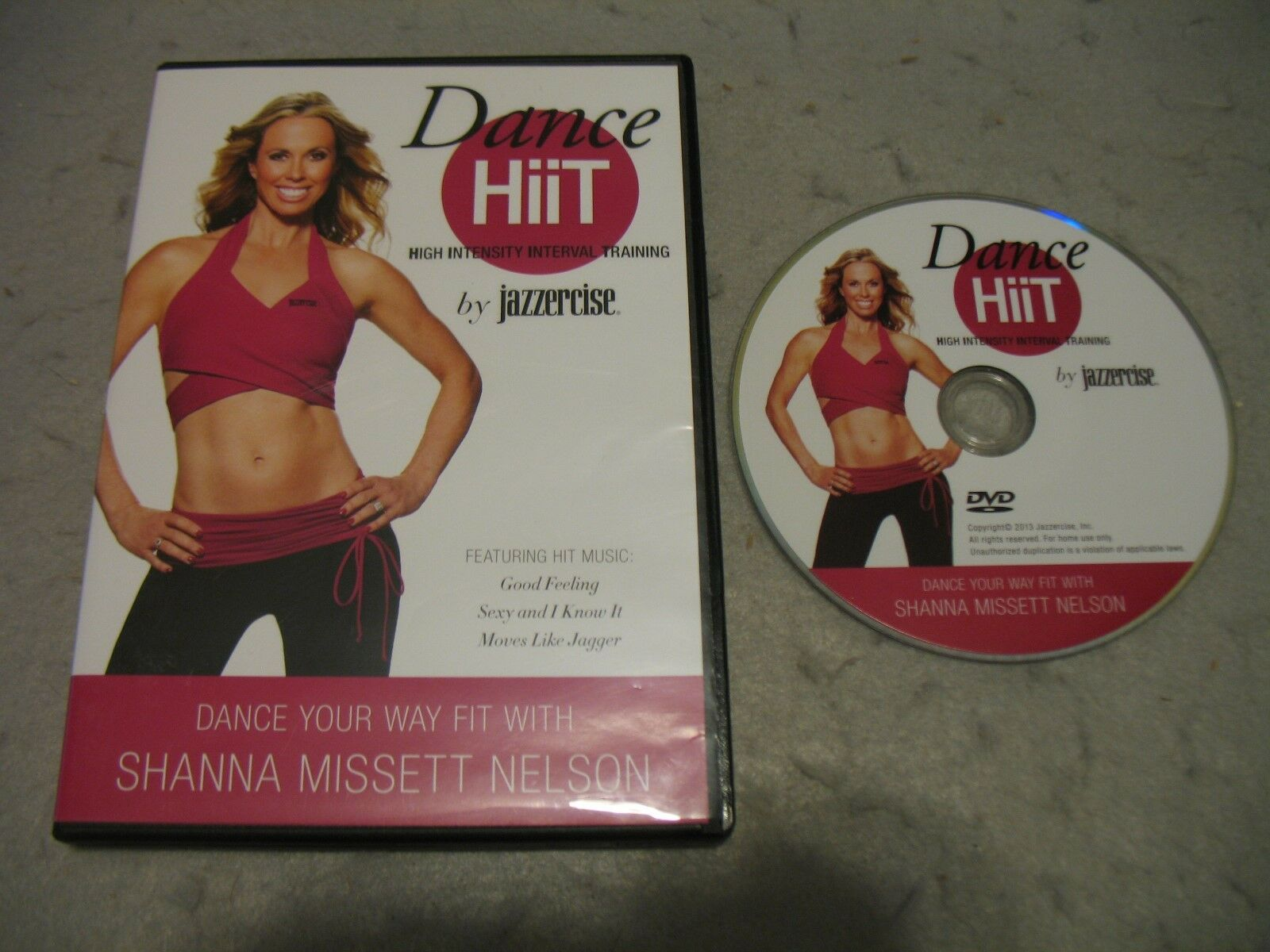 Jazzercise Dance Hiit Workout DVD Aerobic Exercise Fitness Shanna Missett Nelson Reviews