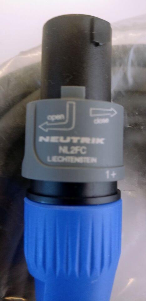 Højttaler, Andet mærke, Neutrik NL2FC