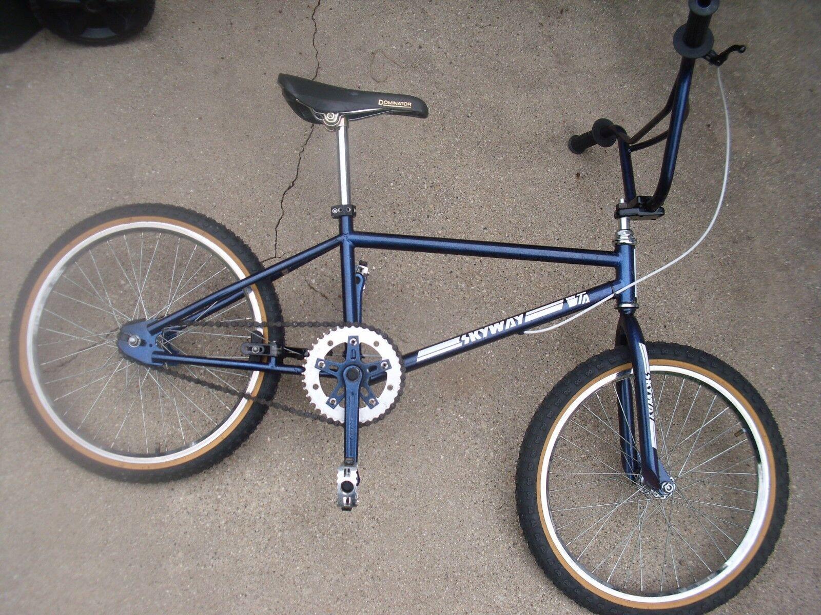 Old School Skyway 300 TA Viscount comp 3 Suzue Maxy 3 piece cranks bmx bike