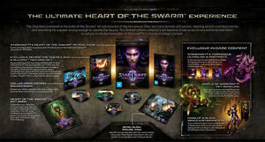 Details about StarCraft 2 II: Heart of the Swarm Collector Edition  (PC/Windows 10/8/Mac) NEW