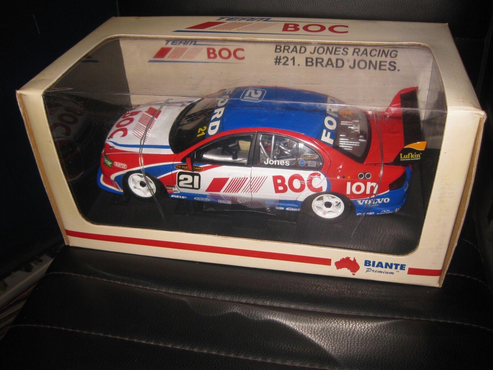 BIANTE 1.18 FORD FALCON BA BRAD JONES RACING B JONES 2005 BOC V8 SUPERCAR  21