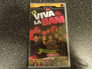 VIVA LA BAM VOLUME 4 -UMD MOVIE  FOR PSP SYSTEM NEW FREE SHIP