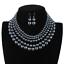 Women-Bohemian-Choker-Chunk-Crystal-Statement-Necklace-Wedding-Jewelry-Set thumbnail 56