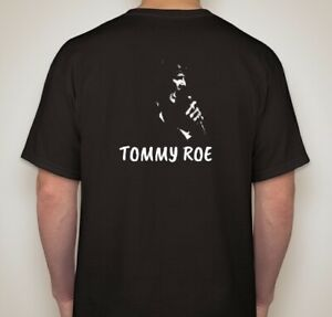 Tommy-Roe-T-039-s-Gildan-Cotton-M-L-XL-Black-Only-Free-Shipping-US-Residents-Only