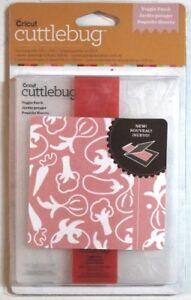 Cuttlebug Veggie Patch A2 Embossing Folder /& Border wVegetable Pattern New