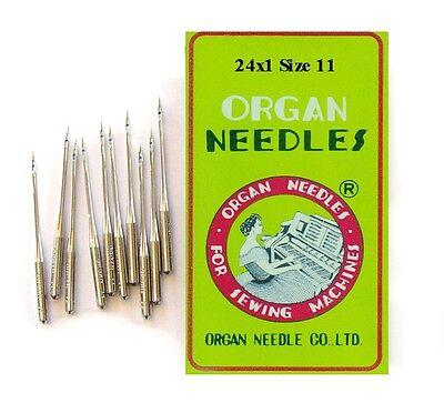 24x3 Singer 40K /& 50D  Sewhandy Toy Sewing Machine Needles Sz 8 Qty 5