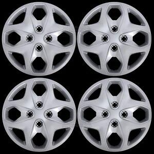 Set-of-4-New-2011-2015-Ford-Fiesta-15-034-Wheel-Covers-Hub-Caps-Full-Rim-Tire-Hubs