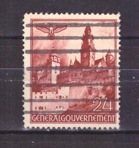FRANCOBOLLI-Germania-Occupazioni-Polonia-1940-Vedute-24-g-UNI61