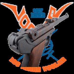 Luger-Pistole-PO8-Parabellum-m-Magazin-Holzgriff-VIELE-FOTOS-Modell-aus-Metall