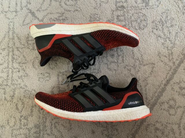 adidas Ultra Boost 2.0 Mens Solar Red Running Shoes AQ4006 UltraBOOST 7.5 /& 8.5