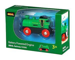 Brio Battery Engine Powered Wooden Train 33595 Ebay