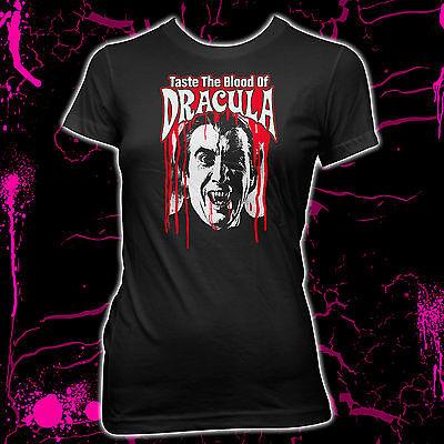 Taste The Blood Of Dracula - Christopher Lee - Pre-shrunk 100% cotton t-shirt