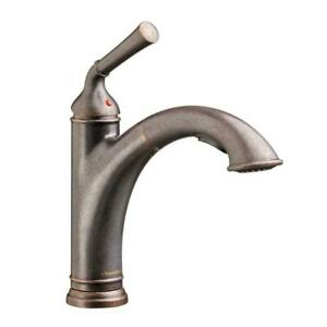 American Standard Portsmouth Kitchen Faucet Old Rubbed Bronze