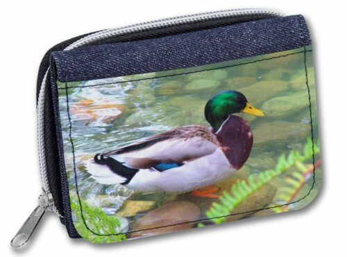 Mallard Duck by Stream Girls//Ladies Denim Purse Wallet Christmas Gift AB-DU73JW