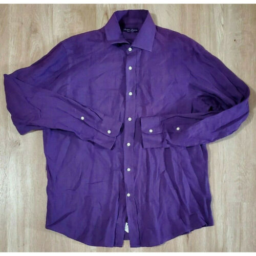 Ralph Lauren Purple Label Mens Shirt Size Large Li