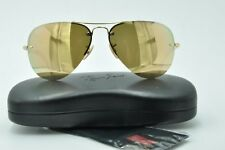 7b031948dc80a7 item 6 Ray Ban RB 3449 Sunglasses 001 2Y Gold Aviator Rose Mirrored Lenses  59mm -Ray Ban RB 3449 Sunglasses 001 2Y Gold Aviator Rose Mirrored Lenses  59mm