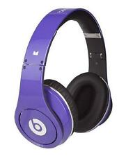 beats by dr dre studio headband headphones purple ebay