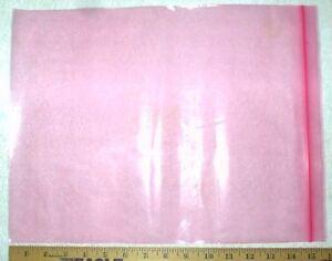 50-PINK-Anti-Static-Bags-12-034-x-15-034-4-mil-Seal-Top