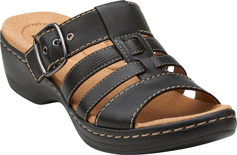 Clarks Women Hayla Cavern - - - Comfortable, Lightweight Slide-in  Sandals 822fcf