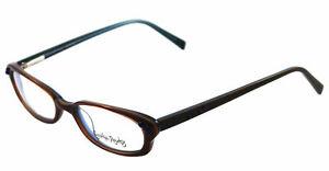 NEW-Cynthia-Rowley-Eyeglasses-CR-0204-Brown-BROWN-CR0204-49mm