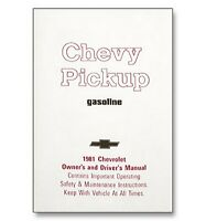 1981 Chevy Truck Owner's Manual