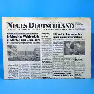 Praktisch Ddr Neues Deutschland 02.02.1989 Februar Zum Geburtstag Hochzeitstag 29. 30. 31.