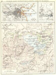 Blarney Ireland Map.Ireland Dublin Lake District Killarney Cork To Blarney Kerry